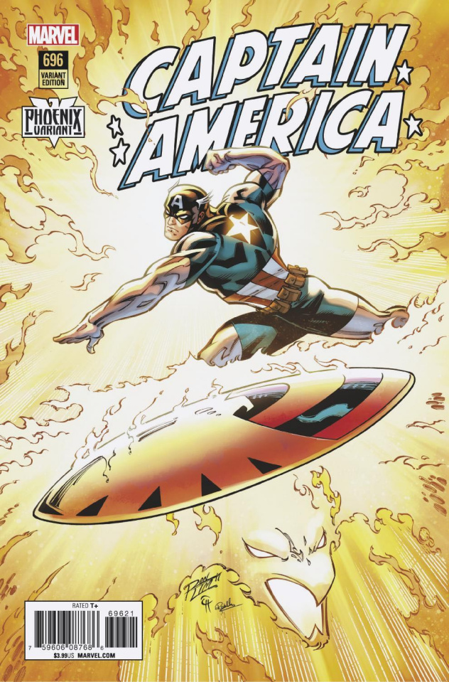 Captain America #696 (Lim Phoenix Cover)