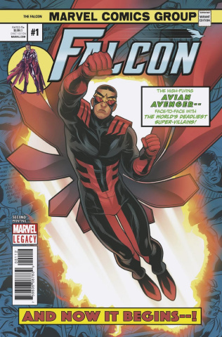 The Falcon #1 (Torque 2nd Printing)