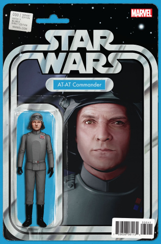 Star Wars #30 (Christopher Action Figure Cover)