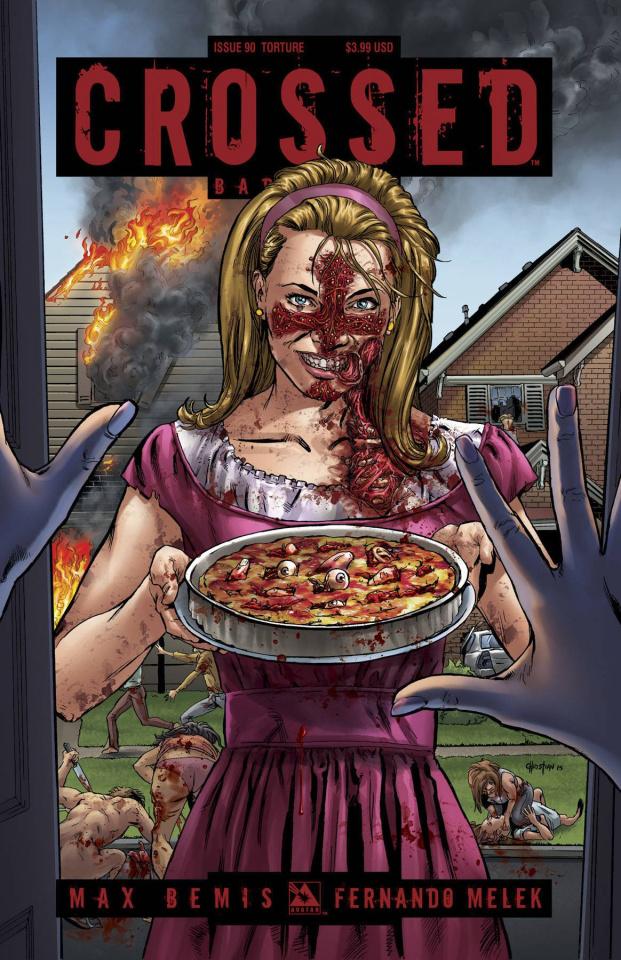 Crossed: Badlands #90 (Torture Cover)