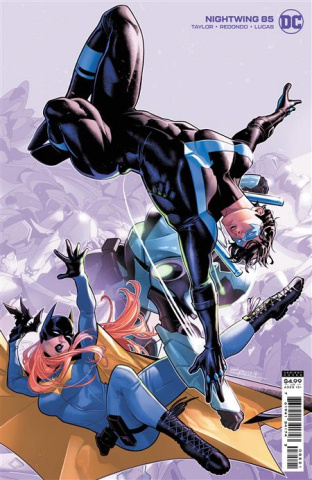 Nightwing #85 (Jamal Campbell Card Stock Cover)