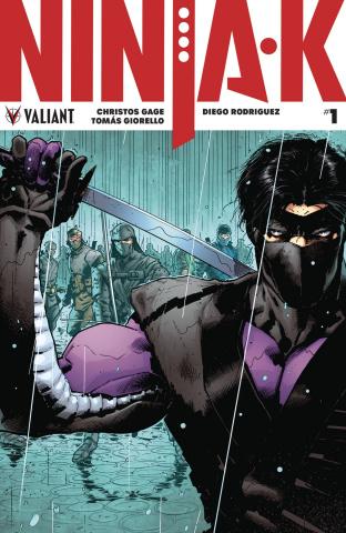 Ninja-K #1 (2nd Printing)