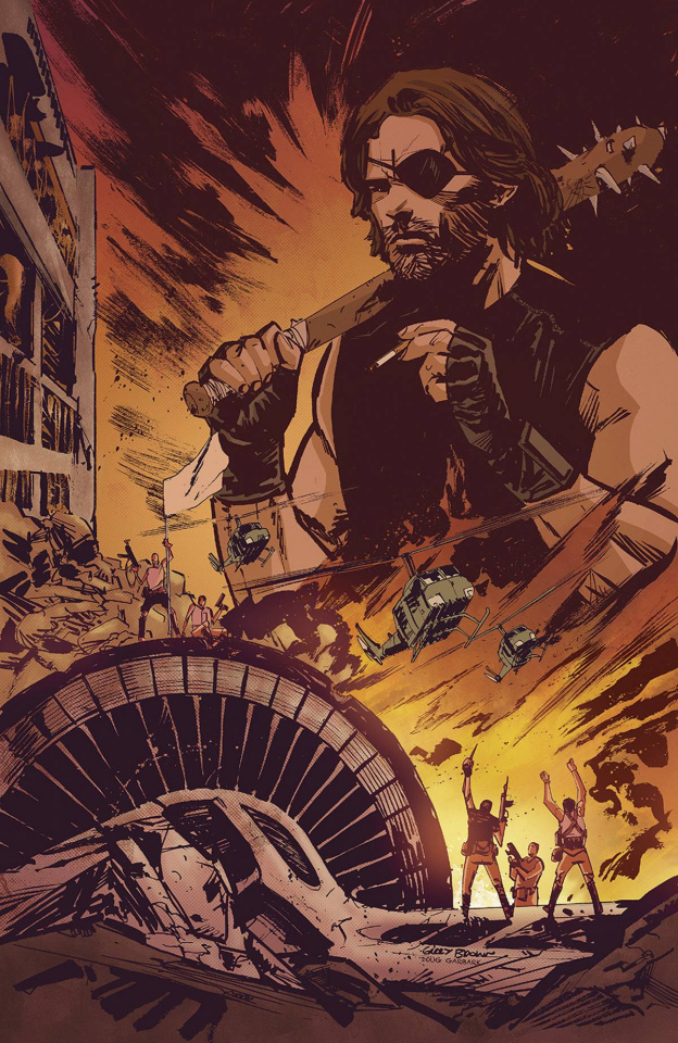 Escape From New York #1 (ECCC Cover)