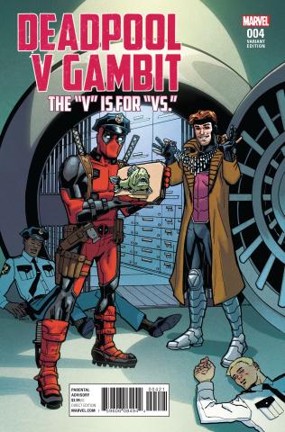 Deadpool vs. Gambit #4 (Variant Cover)
