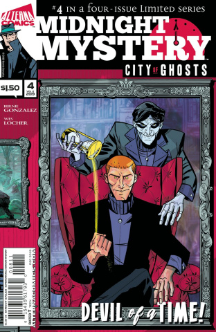 Midnight Mystery: City of Ghosts #4