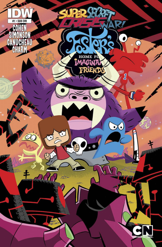 Foster's Home For Imaginary Friends #1 (Subscription Cover)
