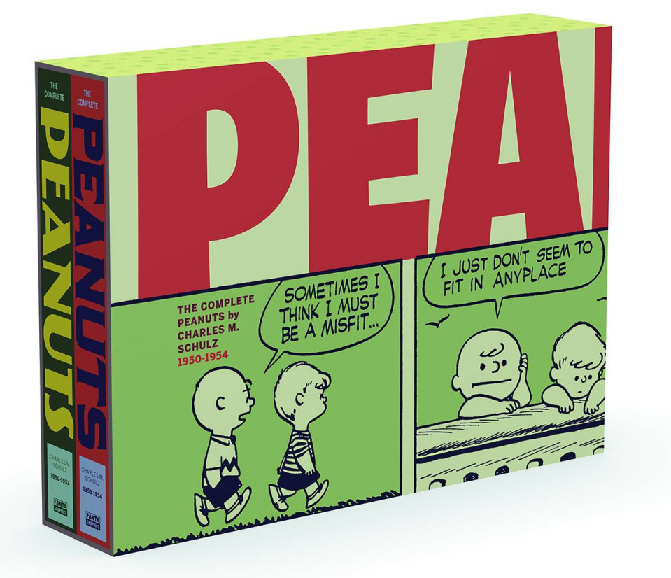The Complete Peanuts: 1950-1954