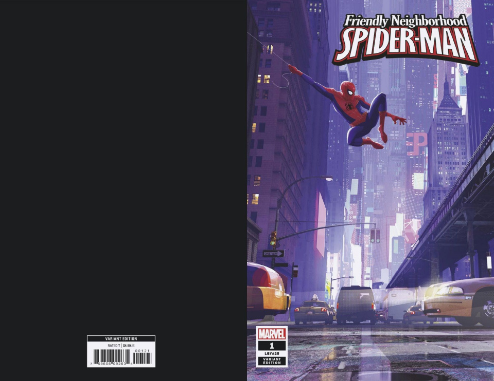 Friendly Neighborhood Spider-Man #1 (Animation Cover)