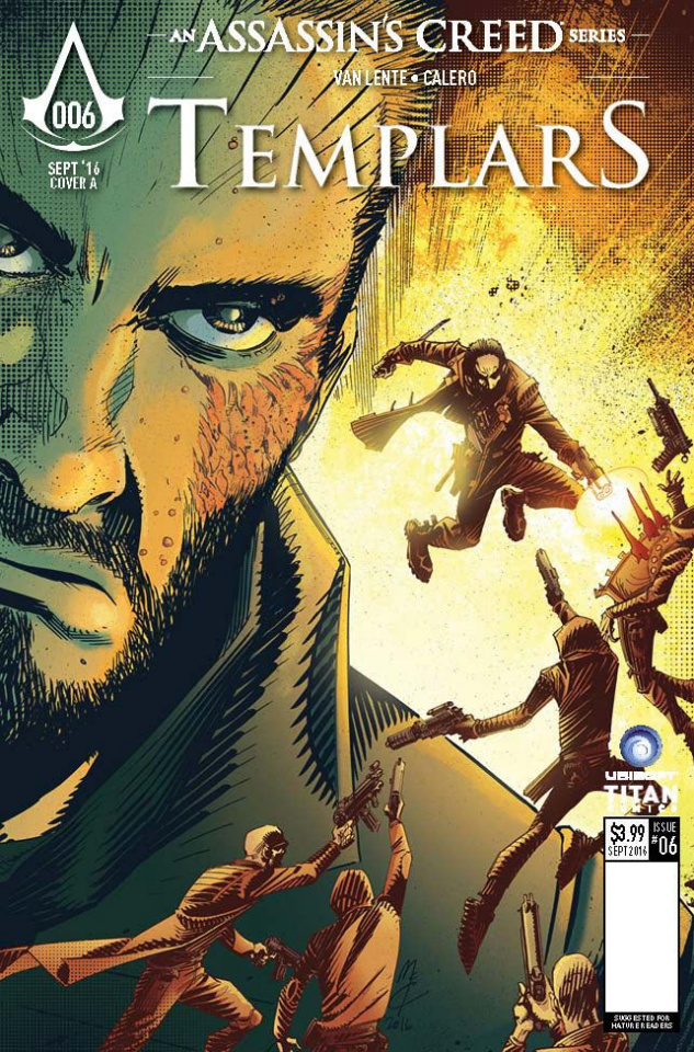 Assassin's Creed: Templars #6 (McCrea Cover)