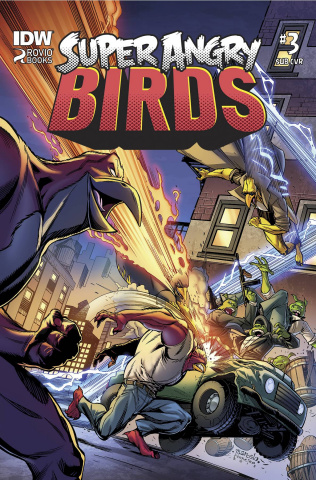 Angry Birds: Super Angry Birds #3 (Subscription Cover)