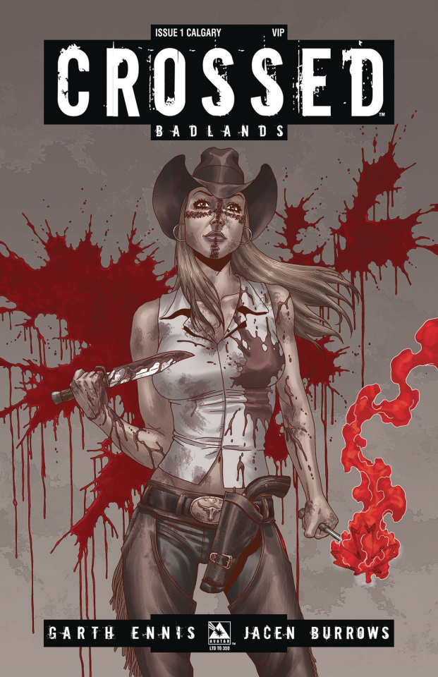 Crossed: Badlands #1 (Calgary VIP Cover)