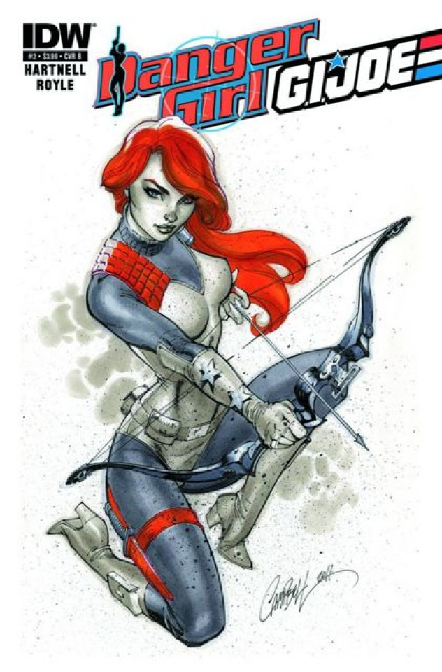 Danger Girl / G.I. Joe #2