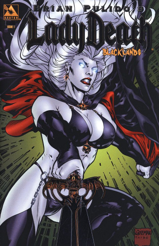 Lady Death: Blacklands #1 (Platinum Foil Cover)