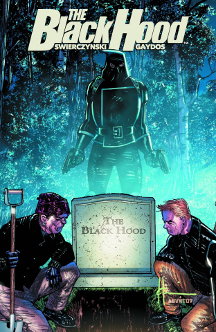 The Black Hood #3 (Chaykin Cover)