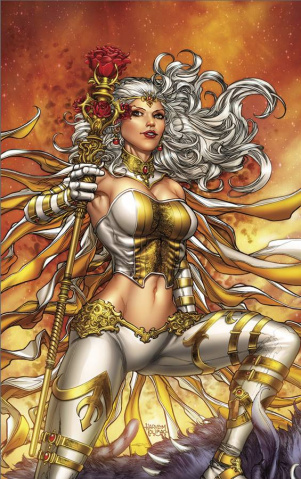 Grimm Fairy Tales: The White Queen #3 (Tolibao Cover)