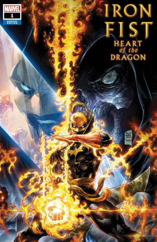 Iron Fist: Heart of the Dragon #1 (Tan Cover)