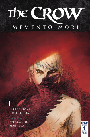 The Crow: Memento Mori #1 (Dell'Edera Cover)