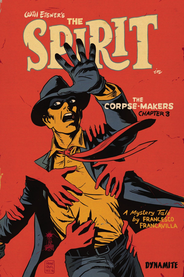The Spirit: The Corpse-Makers #3 (Francavilla Cover)