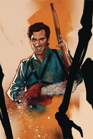 Death to the Army of Darkness #5 (Oliver Virgin Cover)