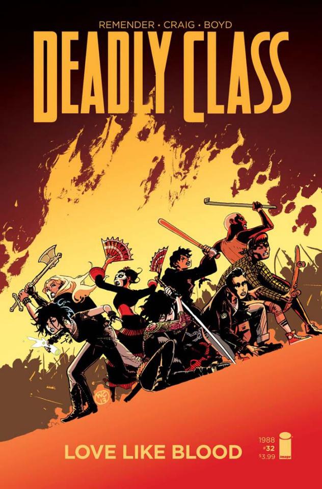 Deadly Class #32 (Craig Cover)
