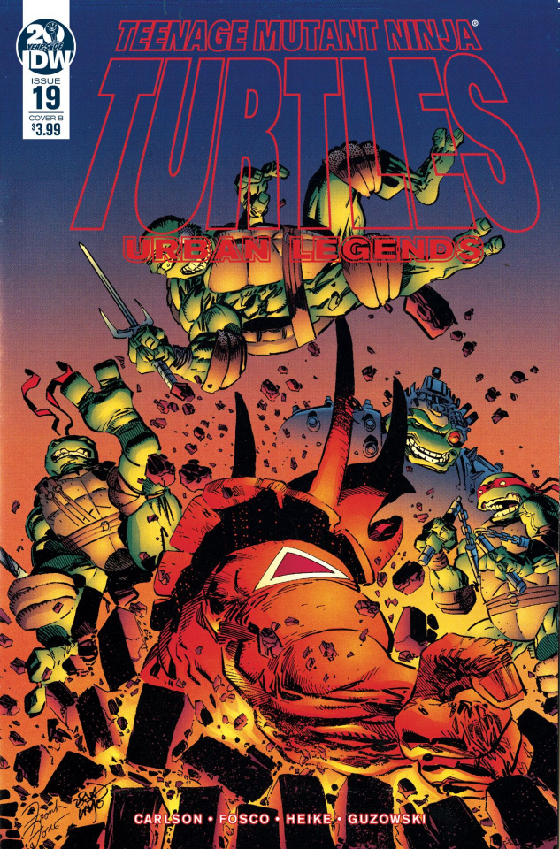 Teenage Mutant Ninja Turtles: Urban Legends #19 (Fosco & Larsen Cover)