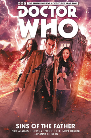 Doctor Who: New Adventures with the Tenth Doctor, Year Two Vol. 6: Sins of the Father