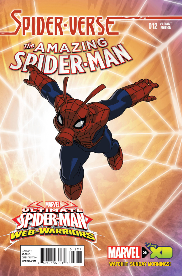 The Amazing Spider-Man #12 (Wamester Spider-Verse Cover)