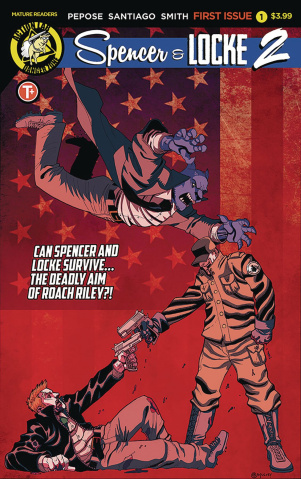 Spencer & Locke 2 #1 (Mulvey Cover)