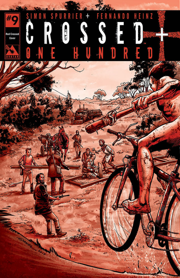 Crossed + One Hundred #9 (Red Crossed Cover)