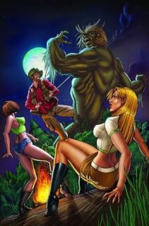 Monster Hunter's Survival Guide, Case Files: Sasquatch #1 (Qualano Cover)