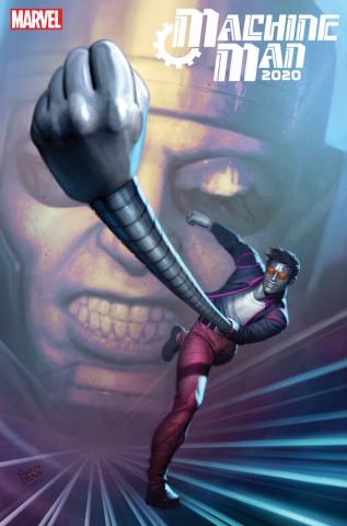 Machine Man 2020 #1 (Brown Cover)