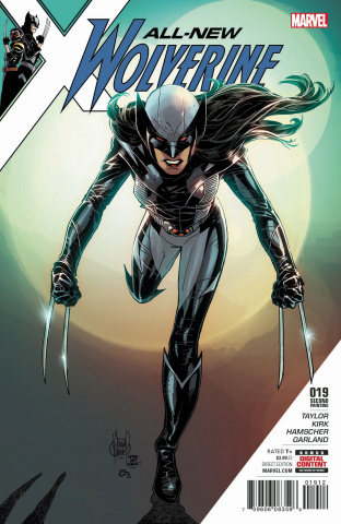 All-New Wolverine #19 (Kubert 2nd Printing)