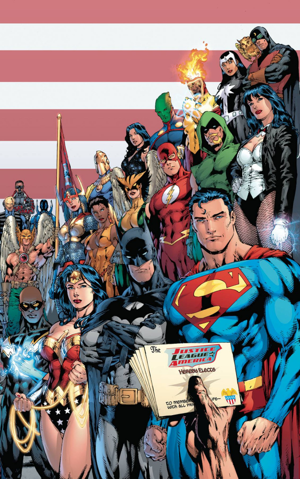 Justice League of America by Brad Meltzer (Deluxe Edition)