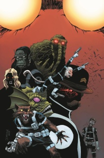 The Howling Commandos of S.H.I.E.L.D. #1 (Shalvey Cover)