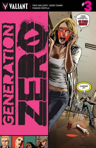 Generation Zero #3 (Mooney Cover)