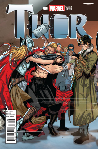Thor #4 (Larroca Welcome Home Cover)