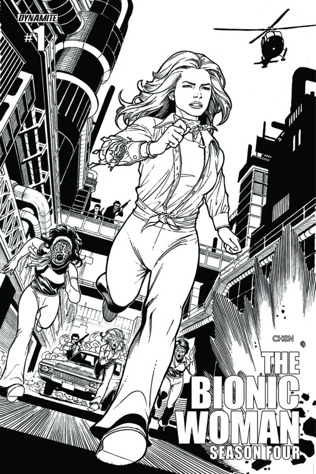 The Bionic Woman, Season Four #1 (15 Copy Chen Cover)