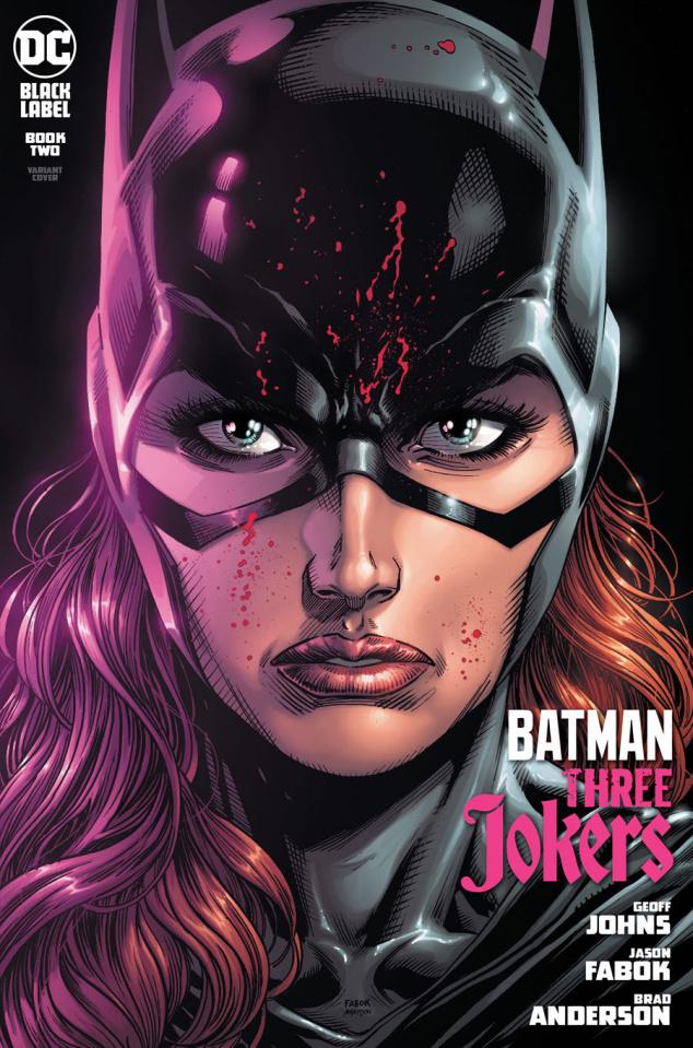 Batman: Three Jokers #2 (Jason Fabok Batgirl Cover)