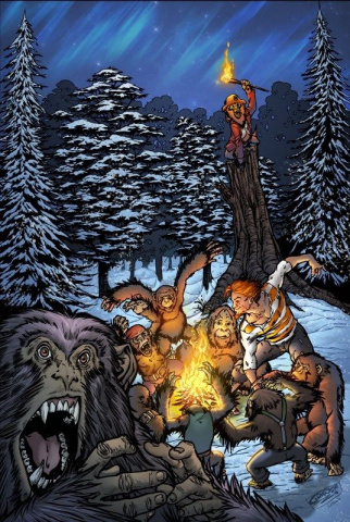 Grimm Fairy Tales: The Jungle Book 2016 Holiday Special (Granda Cover)