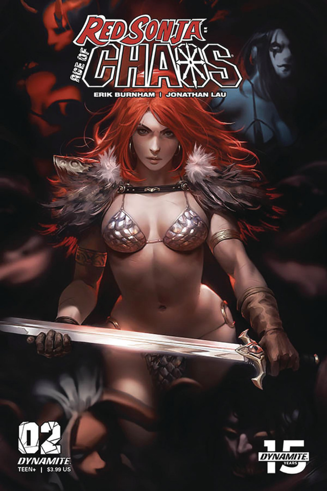 Red Sonja: Age of Chaos #2 (Chew Cover)