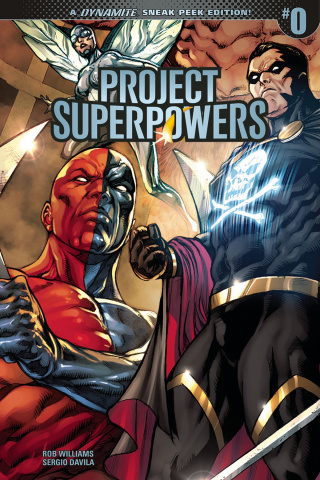 Project Superpowers #0 (30 Copy Cover)