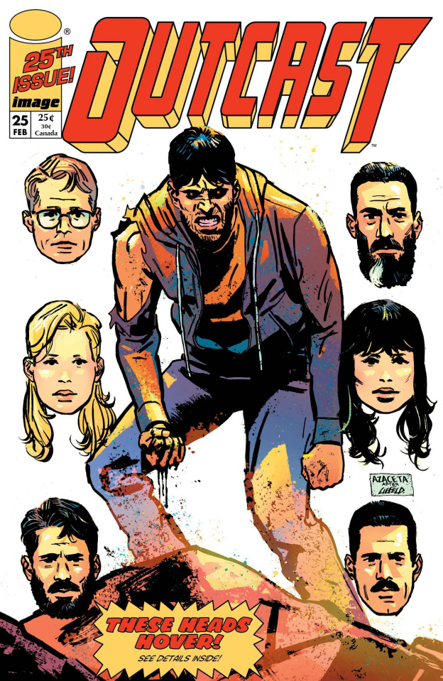 Outcast #25 (Image Tribute Cover)