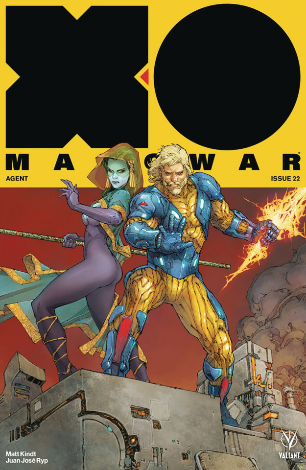 X-O Manowar #22 (Rocafort Cover)