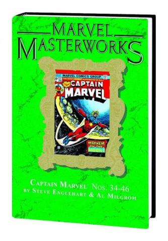 Captain Marvel Vol. 4 (Marvel Masterworks)