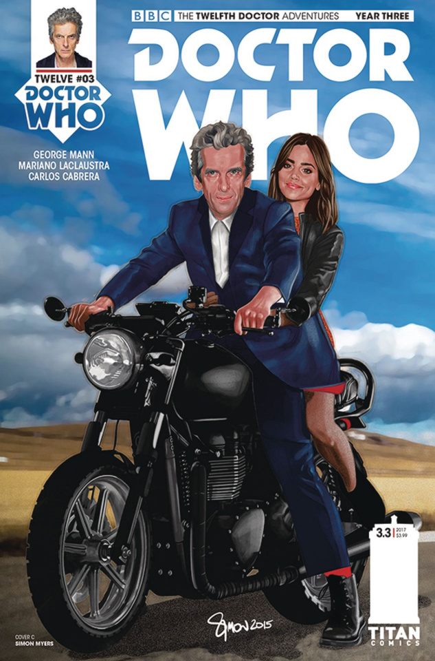 Doctor Who: New Adventures with the Twelfth Doctor, Year Three #3 (Myers Cover)