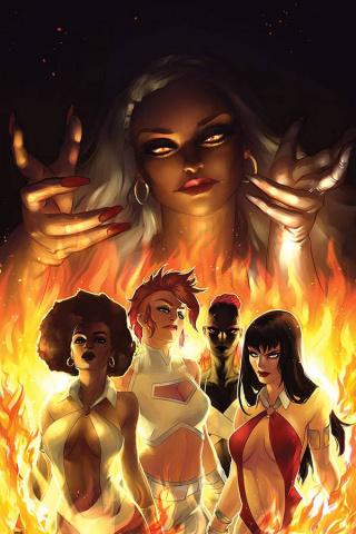 Sacred Six #5 (20 Copy Hetrick Virgin Cover)