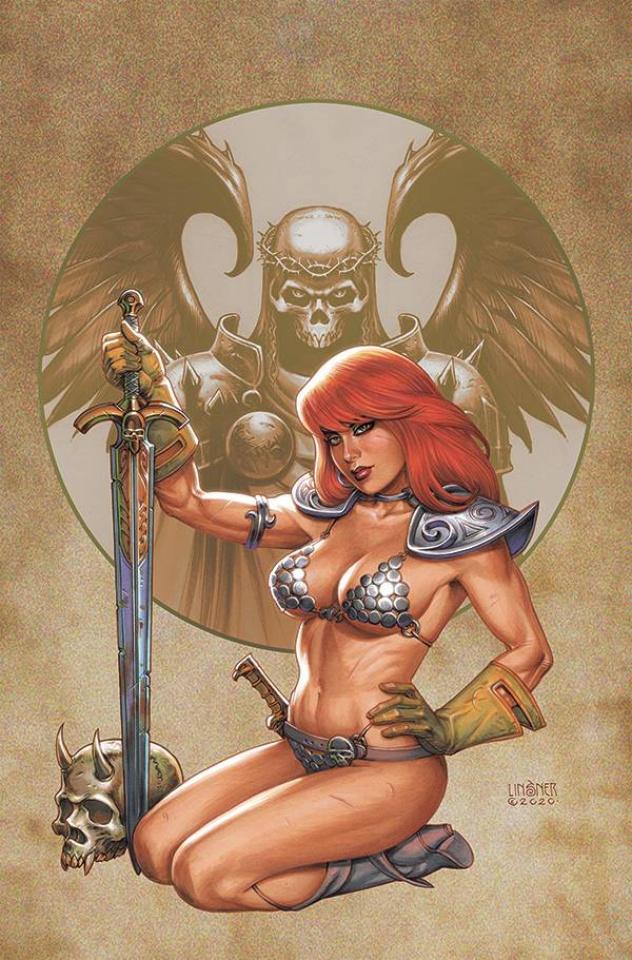 Red Sonja #26 (Linsner Virgin Cover)
