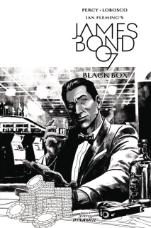 James Bond: Black Box #2 (20 Copy Masters B&W Cover)