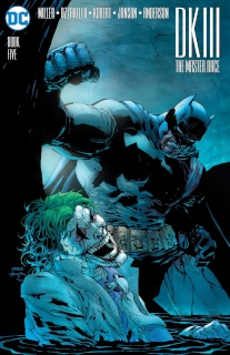 Dark Knight III: The Master Race #5 (Lee Cover)
