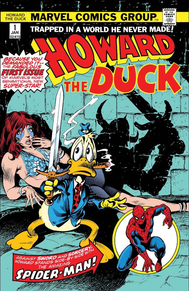 Howard the Duck #1 (Facsimile Edition)